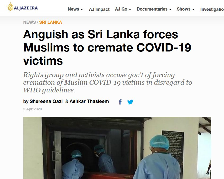 Bishrul Hafi Mohammed Joonus, a 73-year- old  man from the capital Colombo who died of COVID-19, was the second Muslim to have been cremated