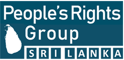 People's Rights Group – Sri Lanka Logo